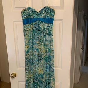 BCBG Long Dress- PERFECT for prom!